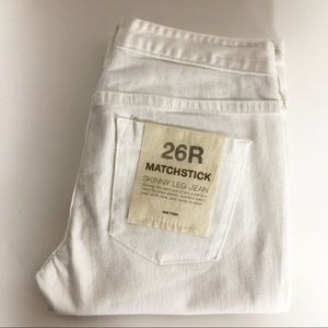 J. Crew Factory Matchstick Skinny Jeans. NWT. 26.